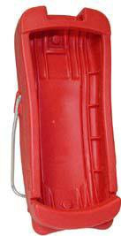 Boot Red, Handheld For Rad-5, Rad-5v and Rad-57 1981 Each/1