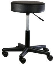 Exam Stool Backless 18 - 22 Inch 5 Black 07-7063 Each/1