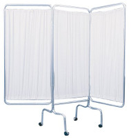 Privacy Screen Folding 3-Panel Vinyl 13508 Each/1