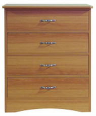 Dresser Avondale Collection English Oak 18 X 30 X 34 Inch 4 Drawer A37-22S Each/1