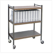 Vertical Chart Rack Omnicart Steel 43-3?4 H X 34-1?2 W X 17 D 3 Shelves 260001 Each/1