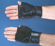 Push Glove Hatch Heavy-Duty Fingerless Large / X-Large Black Hand Specific Pair 8309 Pair/1