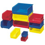 AkroBins Storage Bin Blue Industrial Grade Polymers 7 X 14-3/4 X 16-1/2 Inch 30250BLUE Each/1