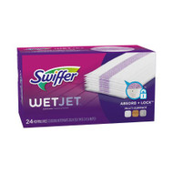 Hard Floor Cleaning Pad Swiffer WetJet 3 X 14 Inch White PGC 08443CT Case/96