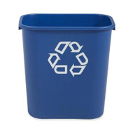 Recycling Container Brute 28-1/8 Quart Blue Open Top Rectangular FG295673BLUE Each/1