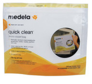 Micro-Steam Bags Medela Quick Clean Reusable 87024NA Case/12