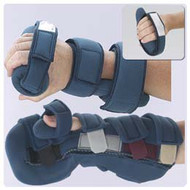 Wrist / Hand / Finger Orthosis Softpro Champ Fabric Left Hand Black / Blue Small 55477401 Each/1
