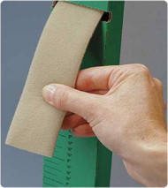 Non-Adhesive Loop Strapping Rolyan SoftStrap 1 Inch X 10 Yard Beige A34960 Each/1