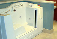 Side Entry Bathing System Apollo Essence Marine-grade Fiberglass WP7101A Each/1