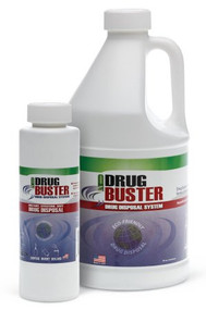 Drug Disposal Solution Drug Buster System Liquid, 64 oz. OTC3200 Case/4