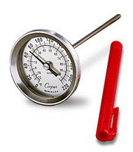 Dial Thermometer Temperature Range: 0-220 Degree Fahrenheit and 0-100 Degree Celsius 4228 Each/1