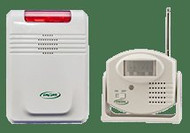 Wireless Motion Sensor and Receiver Alarm 433MS-SYS Each/1