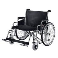Bariatric Wheelchair Zion Heavy Duty Removable Mag Black 26 Inch 600 lbs. N472FMDZMU0 Each/1
