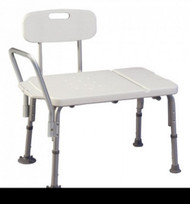 Bath Transfer Bench Imperial Collection 17-1/2 to 21-1/2 Inch 400 lbs. Reversible Arm 7929 Case/2