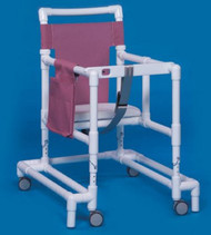 Non Folding Walker Adjustable Height Ultimate PVC 300 lbs. 29 to 35 Inch ULT-99 WHT Each/1
