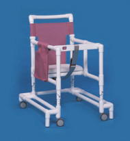 Non Folding Walker Adjustable Height Ultimate PVC 300 lbs. 29 to 35 Inch ULT99 Each/1