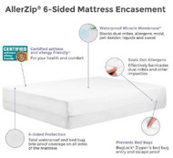 Bedding Encasement Protect-A-Bed¨ 18 X 76 X 80 Inch Knit Polyester For King Size Mattress BOB3010 Case/8