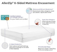 Bedding Encasement Protect-A-Bed¨ 18 X 76 X 80 Inch For King Size Mattress BOM1606 Case/8