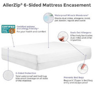 Bedding Encasement Protect-A-Bed¨ 14 X 54 X 80 Inch For Full Xlong Mattress BOM1409 Each/1