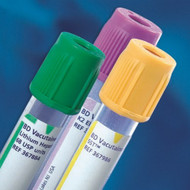 BD Vacutainer¨ Venous Blood Collection Tube Lithium Heparin 13 X 75 mm 3 mL Green Conventional Closure Plastic Tube 366667 Pack/100