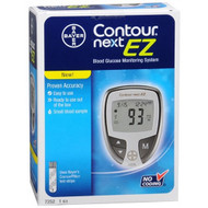 Blood Glucose Meter Contour¨ 5 Seconds Stores Up To 480 Results, 14-Day Averaging No Coding 7252 Each/1