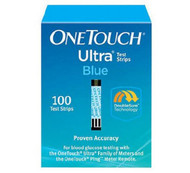 Blood Glucose Test Strip OneTouch¨ Ultra¨ Blue 100 Test Strips per Box 22895 Box/100