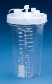 Suction Canister Crystalineª 1500 mL Press-On Lid 71-1101 Each/1