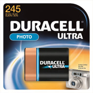 Duracell¨ Ultra Lithium Battery 245 Cell 6V Disposable 1 Pack DL245BPK Each/1
