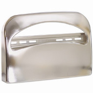Safe-T-Gardª Toilet Seat Cover Dispenser Chrome Metal Manual Pull Wall Mount 57725 Case/12