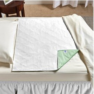 Underpad with Tuckable Flaps SleepDri 34 X 36 Inch Reusable Polyester / Rayon Light Absorbency 1957 Each/1