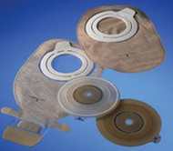 Filtered Ostomy Pouch Assura¨ AC Two-Piece System 7 Inch Length, Mini 1-3/8 Inch Stoma Closed End 14316 Each/1