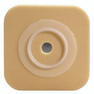 Ostomy Barrier Sur-Fit Natura, Durahesive Trim to Fit, Flexible Tape 1-1/2 Inch Flange 4.5 X 4.5 Inch 413160 Box/10
