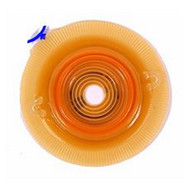Colostomy Barrier Assura¨ Pre-Cut, Standard Wear Pectin Based Red Code Synthetic Resin 1-1/2 Inch Stoma 14277 Box/5