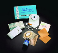 Post-Op Ostomy Pouch Nu-Flexª Nu-Comfortª Two-Piece System 3/4 to 1-1/2 Inch Stoma Oval A, Convex 40-7234-C Each/1