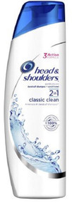 Dandruff Shampoo Head and Shoulders¨Classic Clean 13.5 oz. Squeeze Bottle Scented 37000913559 Each/1