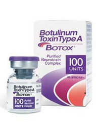 Botox¨ Therapeutic Skeletal Muscle Relaxant Botulinum Toxin Type A (onabotulinumtoxinA) 100 Units Injection Single Use Vial 23114501 Vial/1