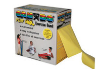 Exercise Band CanDo¨ Perf 100ª Yellow 100 Yard X-Light Resistance 1202288 Each/1