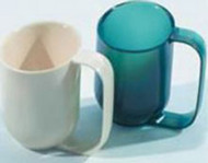 ADL Dysphagia Cup AliMed¨ 8 oz. Almond Polycarbonate Reusable 80299 Each/1