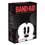 Adhesive Strip Band-Aid¨ Plastic Assorted Sizes Kid Design (Assorted Mickey) Sterile 10381371058348 Box/20