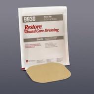 Hydrocolloid Dressing Restore 4 X 4 Inch Square Sterile 519930 Each/1