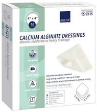 Calcium Alginate Dressing Abena¨ 4 X 4 Inch Square Calcium Alginate Sterile 2615 Carton/10