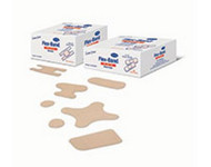 Adhesive Spot Bandage Flex-Band¨ 0.875 Inch Diameter Fabric Round Tan Sterile 46110000 Box/100