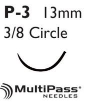 Suture with Needle Proleneª Nonabsorbable Blue Monofilament Polypropylene Size 5-0 18 Inch Suture 1-Needle 13 mm 3/8 Circle Precision Point - Reverse Cutting Needle 8698G Box/12