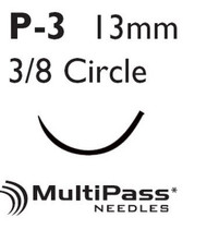 Suture with Needle Proleneª Nonabsorbable Blue Monofilament Polypropylene Size 4-0 18 Inch Suture 1-Needle 13 mm 3/8 Circle Precision Point - Reverse Cutting Needle 8699G Box/12