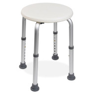Shower Stool McKesson Without Arms Aluminum Frame Without Backrest 13 Inch Seat Width 146-RTL12004KD Each/1