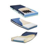 Bed Mattress McKesson Therapeutic Type 35 X 84 X 6 Inch GS8435-29 Each/1