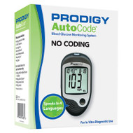 Blood Glucose Meter Prodigy® 7 Second Results Stores Up To 450 Results , 7 , 14 , and 30 Day Averaging No Coding Required 51885 Each/1