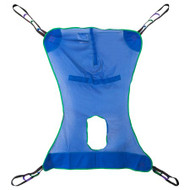 Full Body Commode Sling McKesson 4 or 6 Point Without Head Support Medium 600 lbs. Weight Capacity 146-13221M Each/1