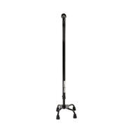 Small Base Quad Cane McKesson Steel 30 to 39 Inch Height Black 146-RTL10310 Case/4