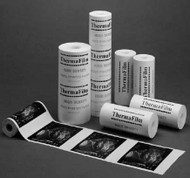 Diagnostic Recording Paper ThermaFilm® Type II Thermal Paper 110 mm X 20 Meter Roll Without Grid HPM-1100HD Roll/1